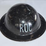 Royal Ulster Constabulary WWII helmet