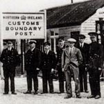 Photograph of Northern Ireland customs post