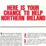 RUC Police Primacy' policy recruitment leaflet